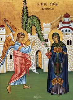 St. Irene Chrysovalantou's story starts out like a fairy tale. Then it really gets interesting!