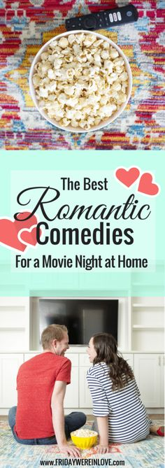 Date nights at home? Here are some of the best movies to watch with your boyfriend (or best movies to watch with your husband!) for your next movie night in! #datenight #movienight #boyfriend #husband #romanticcomedy #movies