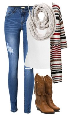 """""""Friendly Hack!!!!!!"""" by one-of-those-nights ❤ liked on Polyvore featuring Sans Souci and Chico's"""