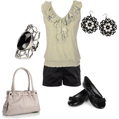 Dressy but comfortable, created by ircourt on Polyvore