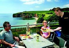 Privately owned Caravans for hire at  Ladram Bay Holiday Park Devon