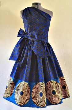 The Trendiest Ankara Styles For Your Outings - Sisi Couture African Print Dresses, African Dresses For Women, African Attire, African Wear, African Fashion Dresses, African Women, African Prints, African Style, African Design