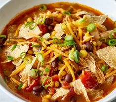 Chicken Taco SoupZERO POINTS – more like a chili and one of our favoritecrockpot meals when it's cold outside! It's one of those dump and forget about it slow cooker meals with some taco seasoning for some spice. Join my FREEWeight Watchers (Freestyle Smartpoints): Recipes & Support …