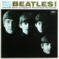Meet the Beatles / The Beatles. Iconic cover and contents. #music #albumcovers #albumart #thebeatles http://www.pinterest.com/TheHitman14/album-cover-art/