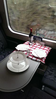 mad på farten, opdækning, togvogn, dsb