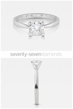 Our 'Delicacy' engagement ring #77diamonds #engagementrings #diamonds