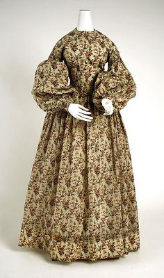 Dress Date: ca. 1838 Culture: American or European Medium: wool Accession Number: C.I.45.45