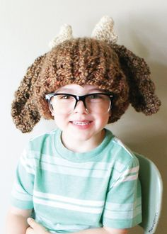 Ravelry: Chunky Deer Hat in Toddler, Child and Adult Sizes (hat012) pattern by Erin Black