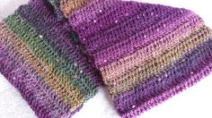 Crocheted Sequined Infinity Scarf by softtotouch on Etsy, $25.00