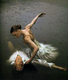 Gillian Murphy and Ethan Steifel in Swan Lake, American Ballet Theatre
