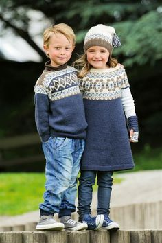 sweater str 2-12 år