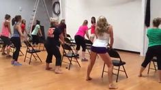 Learn a sexy chair routine at Miss Fit Academy. Your lesson can be tailored to a particular song and style.