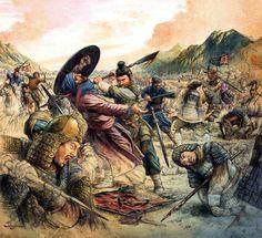 Talas Muharebesi, 751 Abbâsîler ve müttefiki olan Karluklar(TURK) ile Çinliler arasında oldu