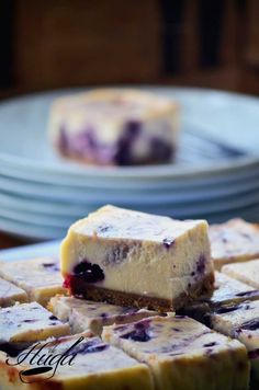 Blueberry Chessecake cortado