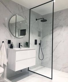 bathroom ideas * bathroom ideas _ bathroom ideas small _ bathroom ideas on a budget _ bathroom ideas modern _ bathroom ideas apartment _ bathroom ideas master _ bathroom ideas diy _ bathroom ideas small on a budget Modern Bathroom Design, Bathroom Interior Design, Modern Bathrooms, Minimal Bathroom, Boho Bathroom, Small Bathroom With Bath, Small Wet Room, Modern Teen Bedrooms, Small Shower Room
