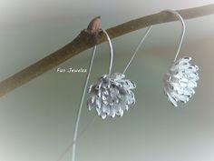 Ohrringe,+Silber,+925,+Lotusblumen.+von+Fun+Jewelzz+auf+DaWanda.com