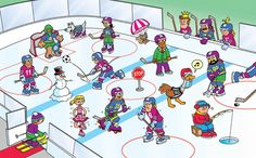 IJshockey? Speech Language Therapy, Speech And Language, Speech Therapy, Hidden Pictures, Funny Pictures, Wheres Wally, Writing Pictures, Executive Functioning, Whats Wrong