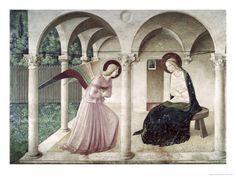 Fra Angelico, La Anunciación (Nuevo Testamento)