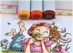 great tutorial here copic markers