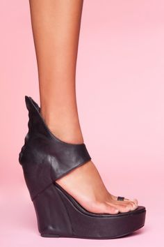 Pluto Platform Wedge by Jeffrey Campbell