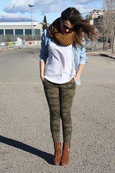 combinacion pantalon camuflaje - Buscar con Google
