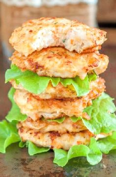 Low FODMAP Recipe and Gluten Free Recipe - Shrimp cakes with dip