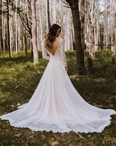 Deirdre was made to get lost in enchanted places! Maggie Sottero designs available at amandasbridal.com