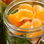 Saladas para 1 semana em potes de vidro... #amei #vidasaudável