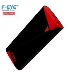 F-EYE 10400mAh Power Bank (Black/Red) with 1 Year Gurantee | eBay
