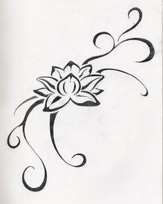 small lotus flower tattoo | Jane Tattoo Gallery: flower tattoo by June Fowler