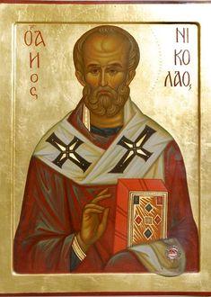 Russian Orthodox, Art Carved, Saint Nicholas, Religious Icons, Christian Church, Orthodox Icons, Saints, Mona Lisa, Artwork