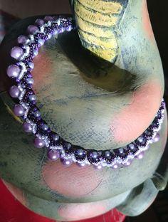 Lila nyaklánc Jewelry, Jewlery, Bijoux, Schmuck, Jewerly, Jewels, Jewelery, Fine Jewelry, Ornament