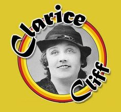 Clarice Cliff logo by Clarice Cliff, via Flickr