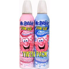 Bubble Foam Soap Twin Pack helps makes bath time fun. It's great for building foam sculptures in the tub. This foaming bath soap also offers a great-smelling clean and leaves skin soft and smooth. Casa Disney, Baby Shampoo, Manicure At Home, Best Bath, Bath Soap, Kids Store, Bubble Bath, Stocking Stuffers, Bubbles