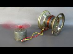 How to make free energy generator magnets with fan - Easy Experiments at home - YouTube