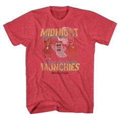 General Mills Men's Midnight Munchies T-Shirt Red S, Size: Small