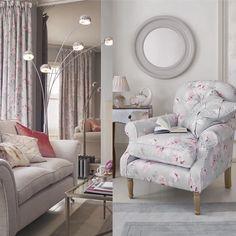 Диван или кресло, или и то, и другое? )) #диван #кресло #lauraashleyru #интерьер
