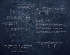 Lockheed Lightning WWII airplane blueprint art by ScarletBlvd Uss Massachusetts, Lockheed P 38 Lightning, Plane Drawing, Aviation Decor, Blueprint Art, Come Fly With Me, American Fighter, Vintage Air, Pencil And Paper