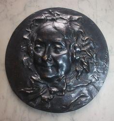 Jean-Baptiste Carpeaux PORTRAIT DE MADAME DEFTY/Antique Signed French Bronze