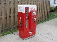 Antique Vintage Coca Cola Soda Vending Machine | Love/ Vintage