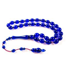 Stylish Blue Acrylic Prayer Beads, 33'lu Akrilik Tesbih, Tasbih, Tasbeeh. ( Stylish Acrylic Prayer Beads, 33'lu Akrilik Sistemli Tesbih, Muslim Rosary, Tasbih, Tasbeeh Misbaha. We have a wide range of prayer beads in different colours and materials. ). | eBay! Prayer Beads, Different Colors, Muslim, Prayers, Beaded Bracelets, Range, Colours, Stylish, Blue