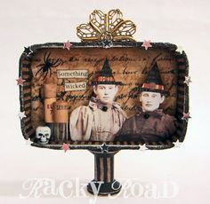 Something wicked altered altoid tin