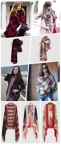 Different Styles Scarves for You