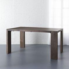blox 35x63 dining table   CB2