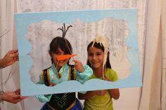 Marco de fotos para Fiesta de cumpleaños de FROZEN, EL REINO DEL HIELO