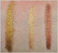 Urban Decay 24/7 Eye Liners: Honey, El Dorado, Lucky