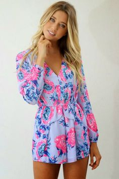 Beautiful Floral Ladies Dress