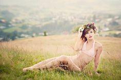 Early spring 2 - delicate bra & panty set by Koniakow