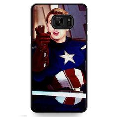Steve Roger Captain America TATUM-10143 Samsung Phonecase Cover For Samsung Galaxy Note 7