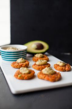 Salmon Patties with Avocado and a Spicy Chipotle Avocado Aioli | A Southern Fairytale